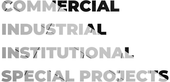 Commercial Industrial Institutional Special projects